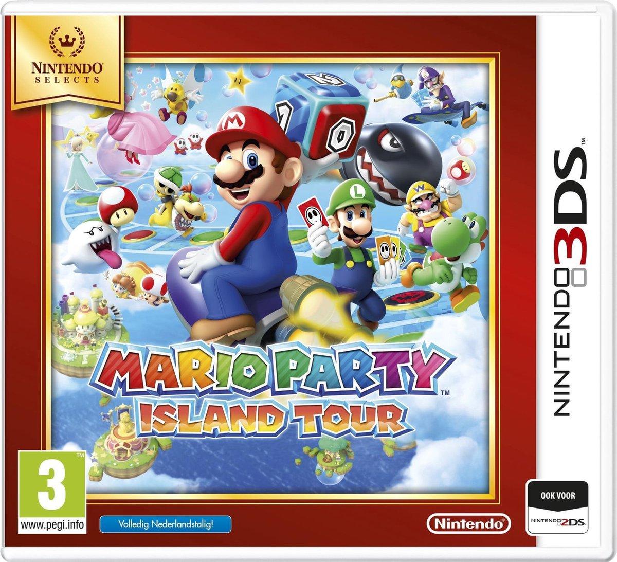 Mario Party - Island Tour - Nintendo Selects - 2DS + 3DS - Nintendo