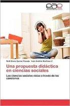 Una Propuesta Didactica En Ciencias Sociales