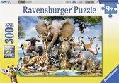 Ravensburger puzzel Afrikaanse vrienden - Legpuzzel - 300 stukjes