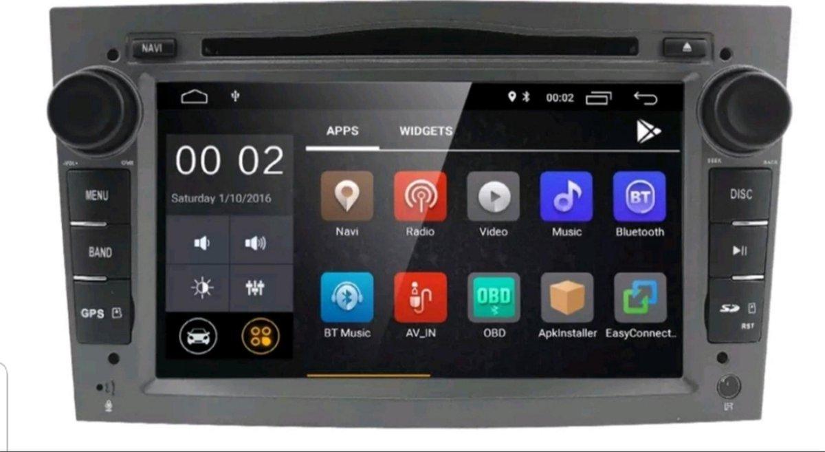 "Android 8.1 DVD LOOK navigatie radio 7"" Opel Astra Corsa Zafira Vectra Vivaro, Canbus, GPS"