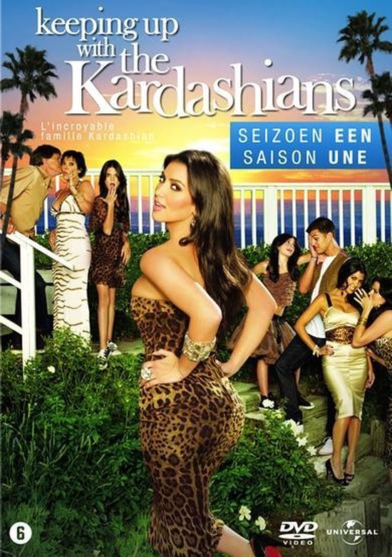 Cover van de film 'Keeping Up With The Kardashians'