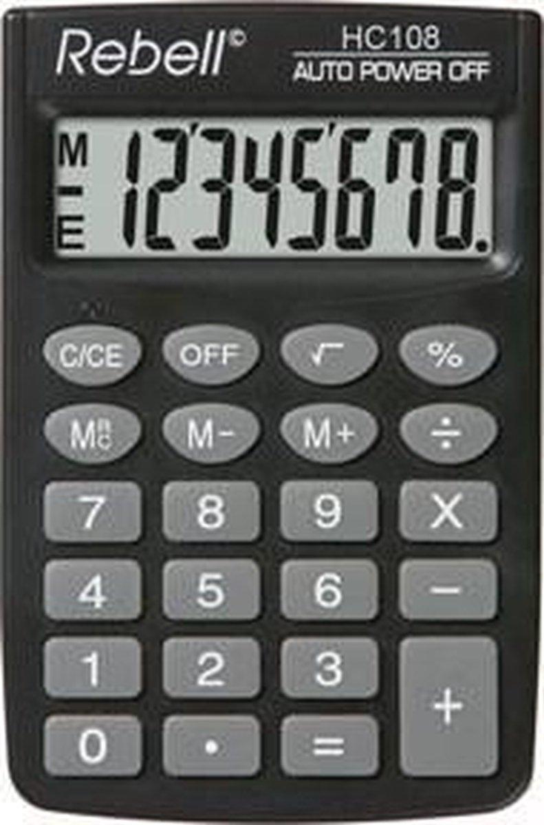 Rebell HC108 - Bureaurekenmachine