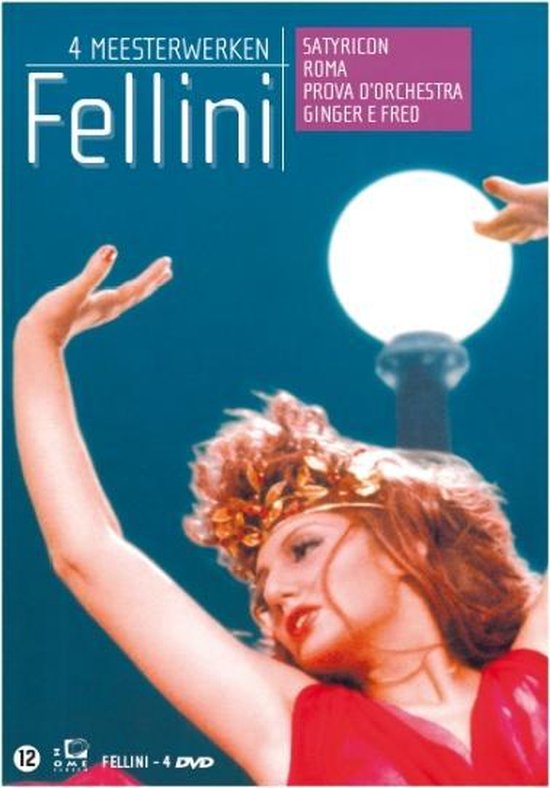 Cover van de film 'Fellini: 4 Meesterwerken'