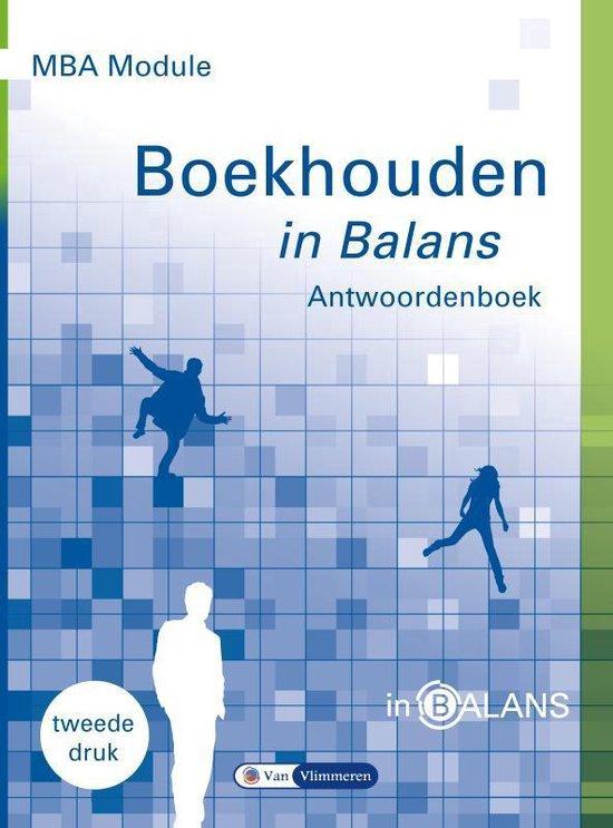 MBA Module Boekhouden in Balans - Henk Fuchs | Fthsonline.com