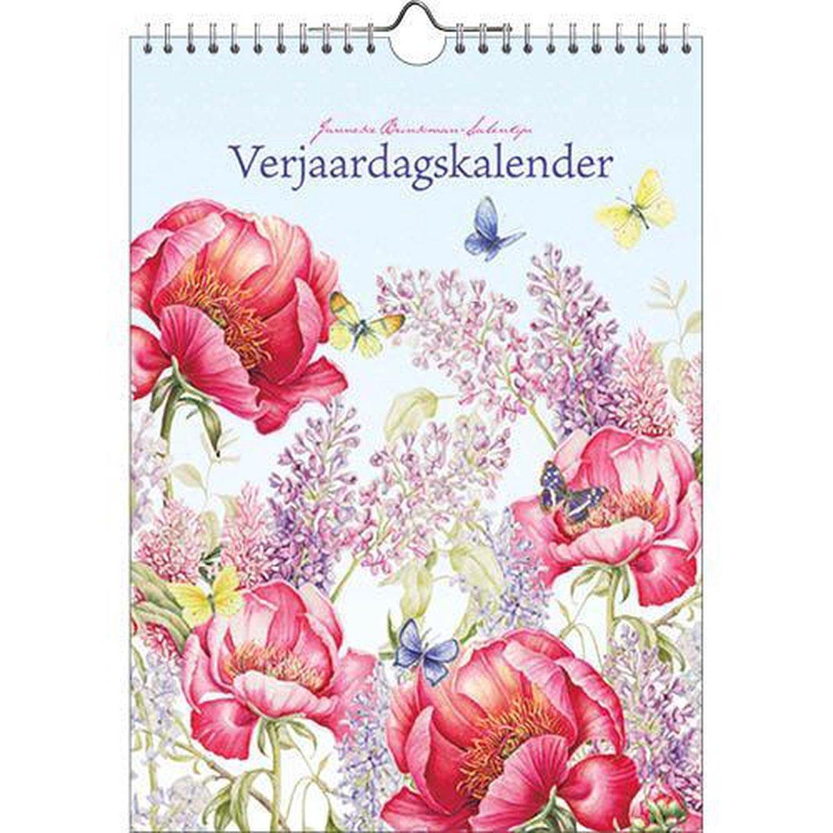 Janneke Brinkman 'Pioen' verjaardagskalender - Comello