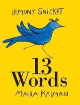 Boek cover 13 Words van Lemony Snicket