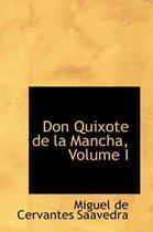 Don Quixote de La Mancha, Volume I