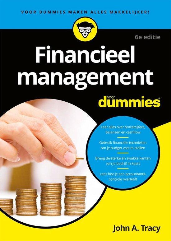 Voor Dummies - Financieel management voor Dummies - John A. Tracy pdf epub
