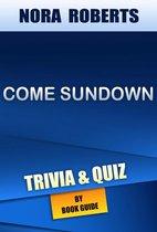 Boekomslag van 'Come Sundown by Nora Roberts | Trivia/Quiz'