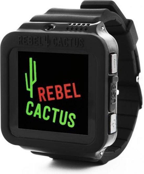 Rebel Cactus - Smartwatch - Zwart