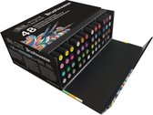 Winsor & Newton Brushmarker Set Essential Collection 48 stuks