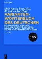 Variantenwoerterbuch Des Deutschen