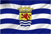 Zeeuwse vlag provincie Zeeland 100 x 150 cm