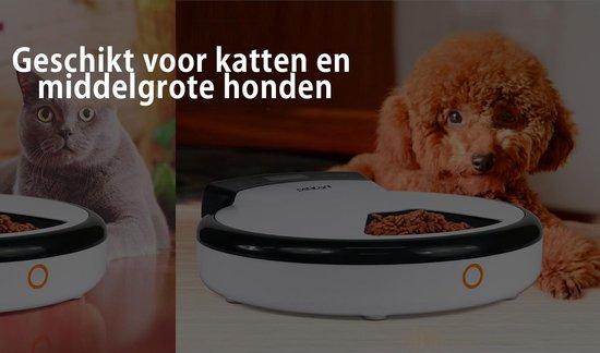 PetWant PF-105 Slimme Voerautomaat voor Hond, Kat en Konijn | Eigenschappen: Instelbaar Voedingsschema - Petwant