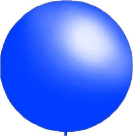 50 stuks - Decoratieballonnen midden blauw 28 cm pastel professionele kwaliteit