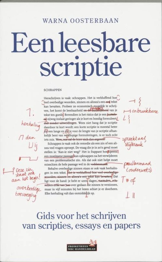 Een Leesbare Scriptie - W. Oosterbaan pdf epub
