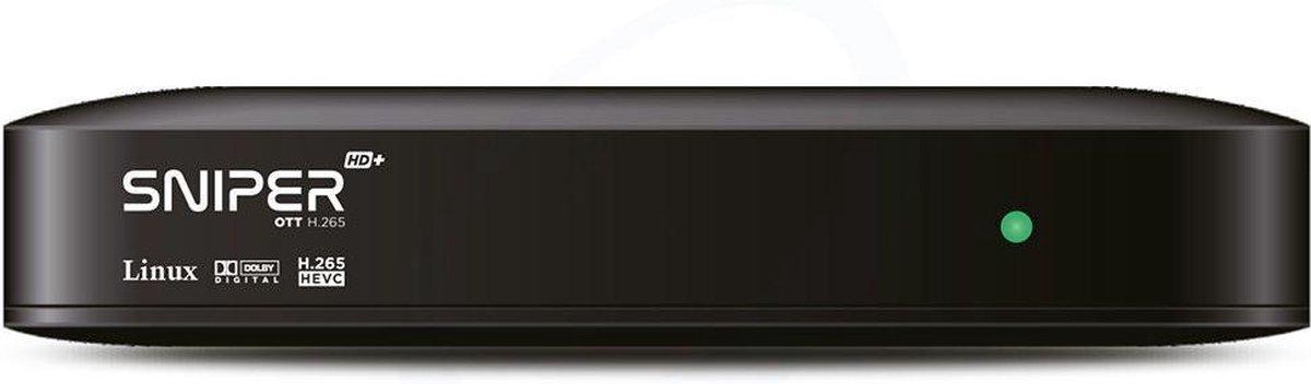 Xsarius Sniper HD+ V2 OTT H.265 – IPTV Ontvanger