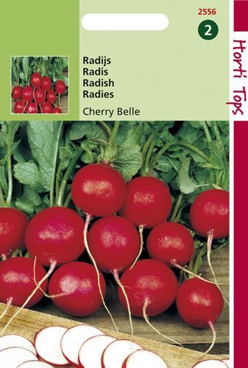 Hortitops Zaden - Radijs Cherry Belle
