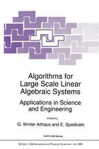 Algorithms for Large Scale Linear Algebraic Systems