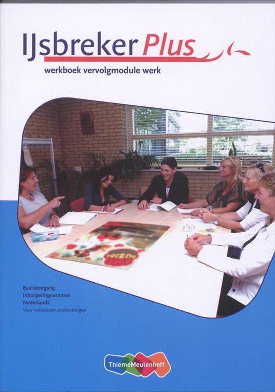 Boek cover IJsbreker Plus vervolgmodule profiel Werk werkboek van Vrije Universiteit (Paperback)