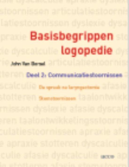 Basisbegrippen logopedie 2 Communicatiestoornissen. De spraak na laryngectomie. Stemstoornissen - J. van Borsel |