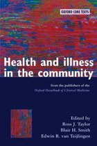 Omslag Health and Illness in the Community
