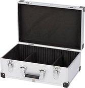 Kreator KRT640260S Gereedschapskoffer - 420 x 265 x 173 mm - zilver - (geleverd zonder gereedschap)