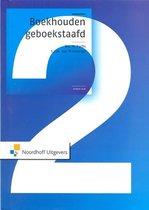 Boek cover Boekhouden geboekstaafd 2 van H. Fuchs (Hardcover)