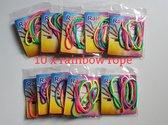 Rainbow rope regenboog touw ztringz 10 stuks traktatie.