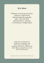 Collection of Department of Russian Language and Literature of the Imperial Academy of Sciences. Volume 10, №8. Notes and Additions to the Dahl's Dictionary]