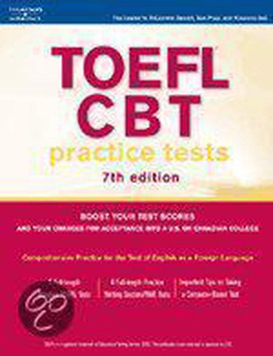 Boek cover Toefl Cbt Practice Tests van Petersons