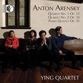 Anton Arensky: Quartet No. 1, Op. 11/Quartet No. 2, Op. 35/...