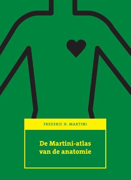 Cover van het boek 'De Martini-atlas van de anatomie' van Frederic H. Martini