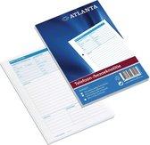 Atlanta telefoon/ bezoeknotitie A5 100V