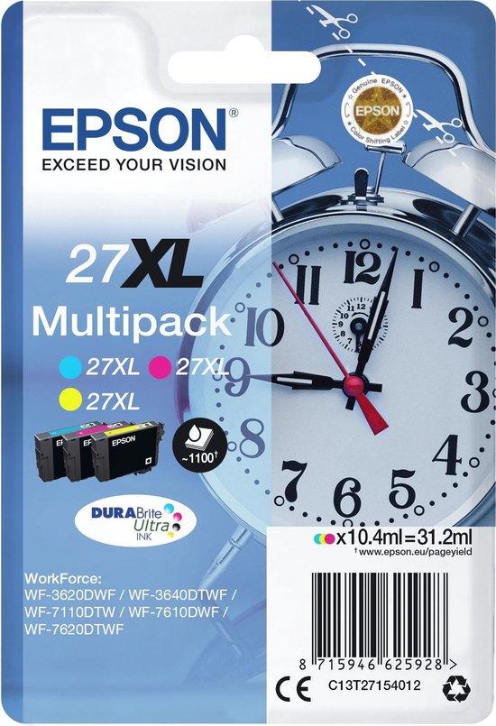 Epson 27XL - Inktcartridge / Multipack / Kleur