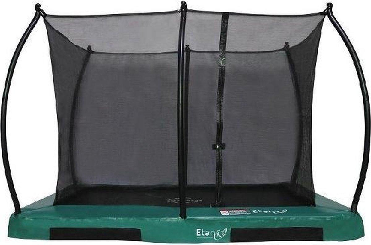 Inground Hi-Flyer 1075 Combi 310 x 232 cm groen- Gratis afdekhoes
