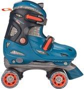 Nijdam Junior Rolschaatsen Verstelbaar Blauw Maat 34-37