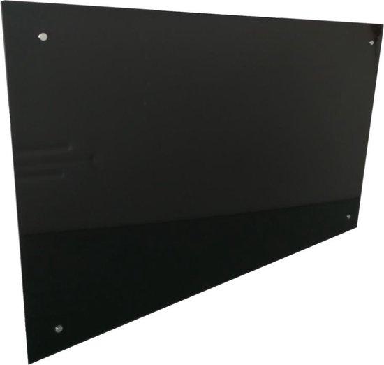 Afbeelding van IVOL - Glassboard Zwart - 60x90 cm - met montagemateriaal