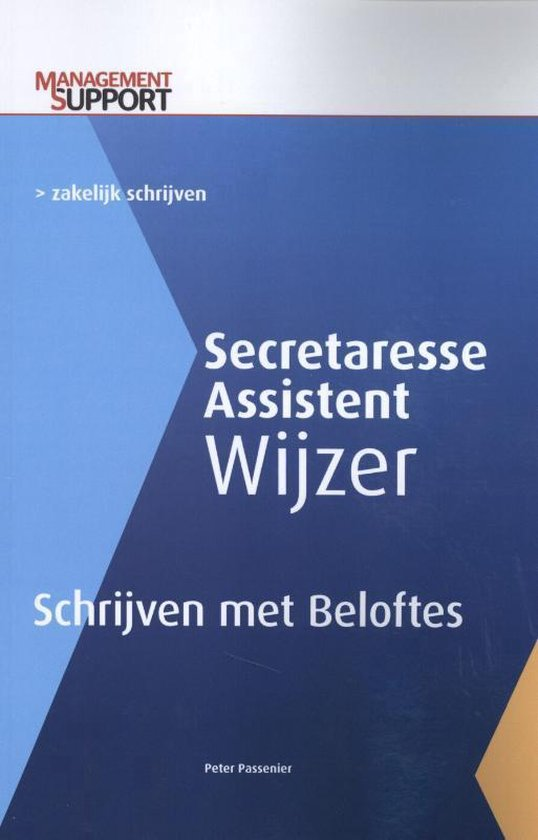 Secretaresse Assistent Wijzer - Schrijven met beloftes - Peter Passenier |