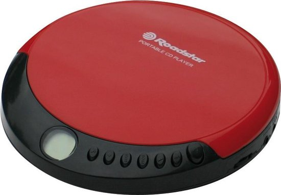 Roadstar PCD-435CD Portable CD player Rood