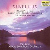 Sibelius: Finlandia, Karelia Suite, Etc / Levi, Atlanta Sym