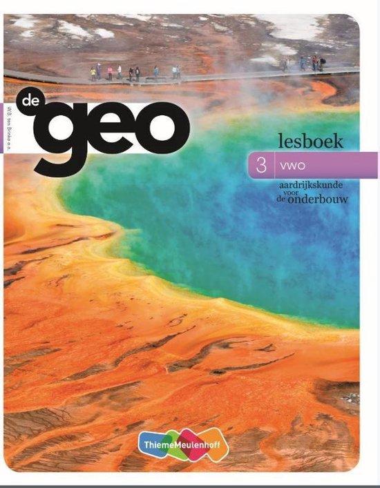 De Geo 3 vwo Lesboek - none |