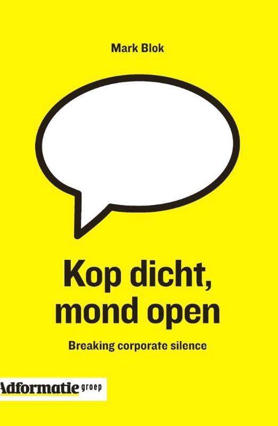 Kop dicht, mond open - Mark Blok | Readingchampions.org.uk