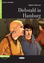 Lesen und Üben A1: Diebstahl in Hamburg. Buch + Audio-CD