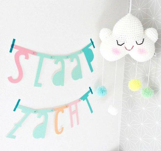 Letter Banner Pastel 138 stuks Letter Banner Pastel 138 stuks (gratis verzending)