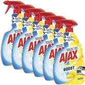 Ajax Spray Boost Soda & Citroen 6 x 750ml - Voordeelverpakking