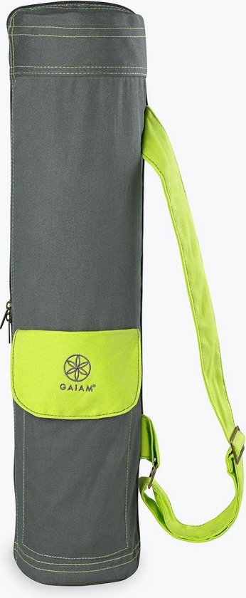 Gaiam - Citron Storm Cargo Bag - Fitnessmat Draagtas - Groen - Gaiam