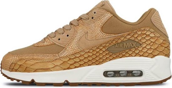 bol.com   Nike Air Max 90 Premium Leather AH8046-200 Geel ...