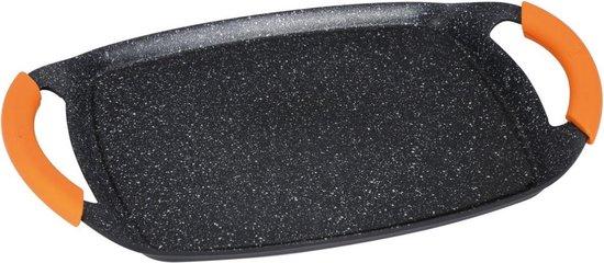 BerlingerHaus Grill plate 47 cm, Granit Diamond Line