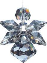 Geluksengel XXL  van Swarovski kristallen ( Raamkristal , Raamhanger , Regenboogkristal , Engel  )